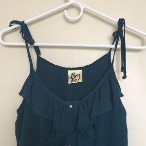 ⚡️4 for $25!⚡️ Vintage Ruffle Slip Dress
